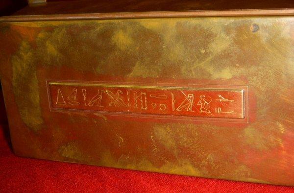 8:  Signed Tiffany & Co. gold & bronze commemorative bo