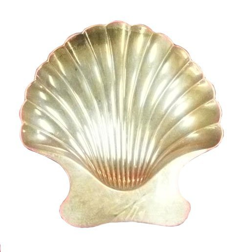 16: Sgd. Tiffany & Co. sterling shell form candy dish