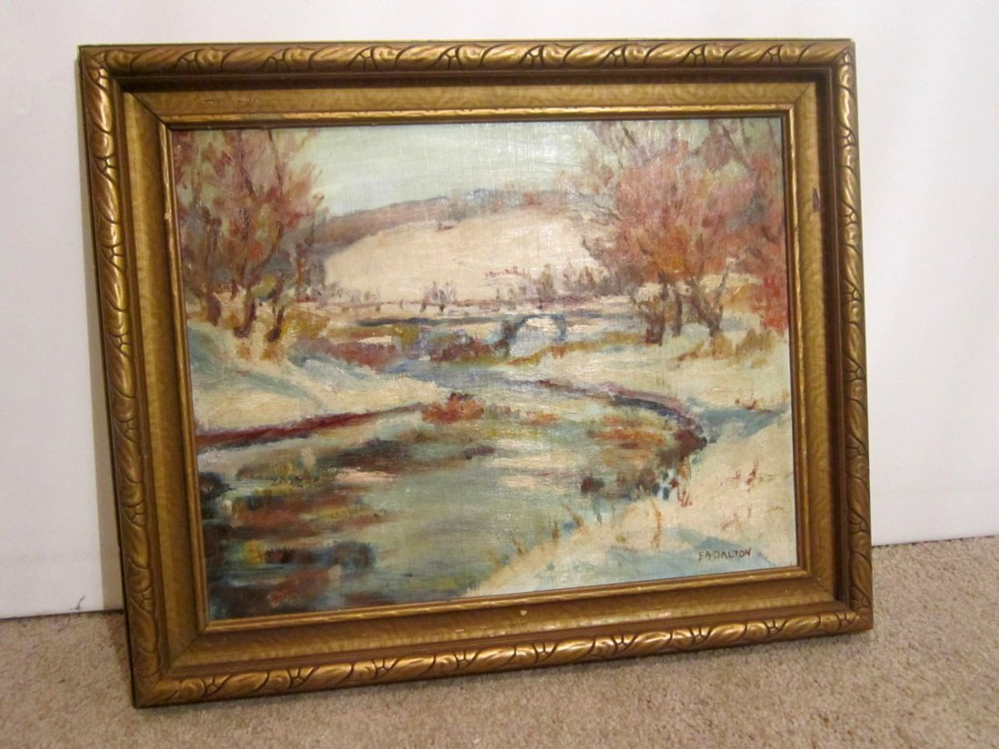 Earnest Alfred Dalton (1887-1963 Canadian) Oil Painting