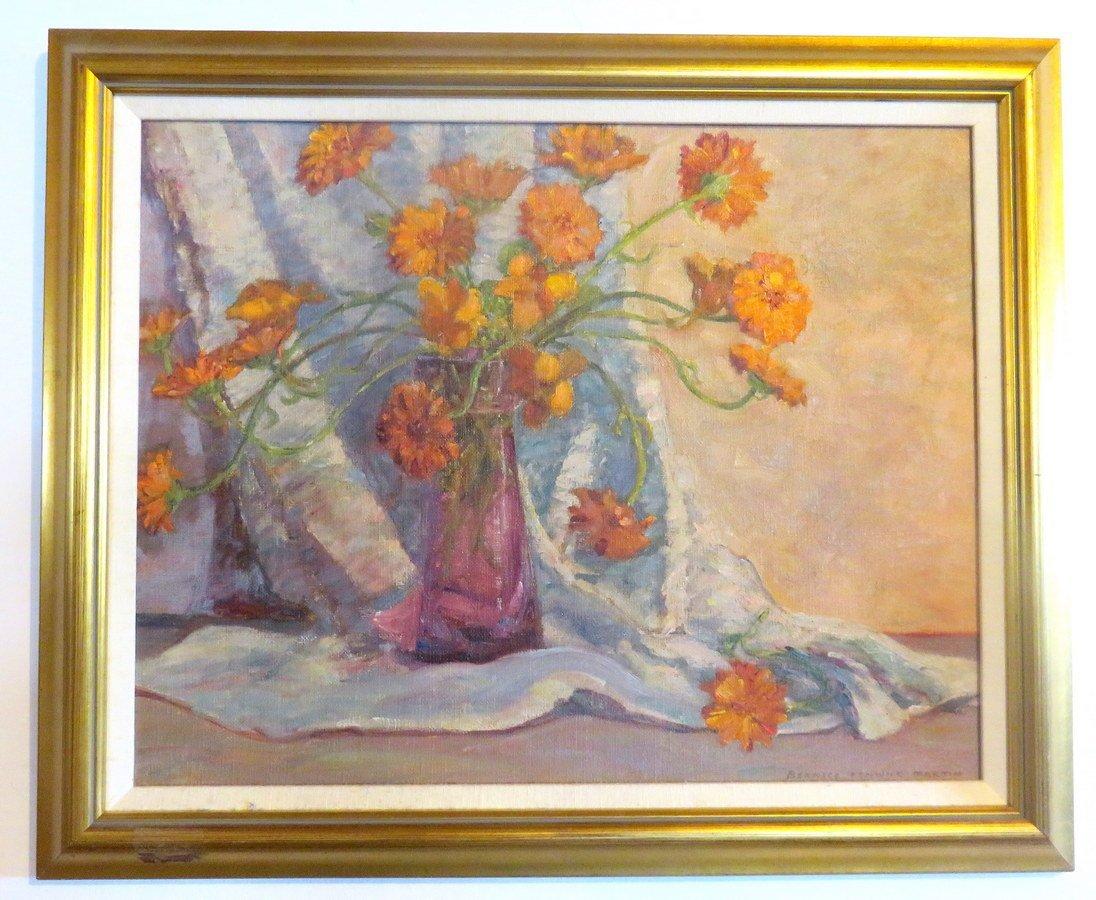 Bernice Fenwick Martin ( Canadian) Still Life Painting