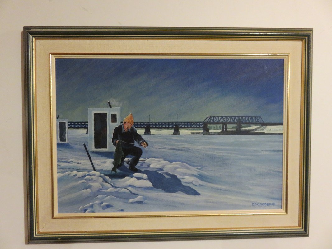 DS Cooper - Catching a Catfish at Lockport Manitoba Oil