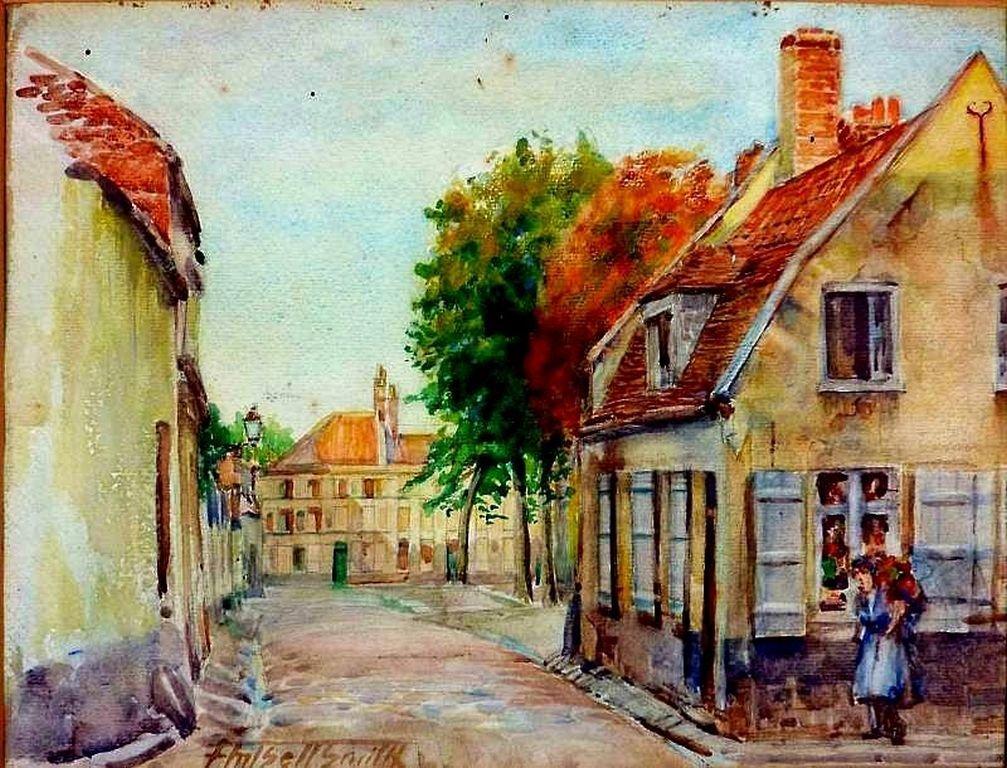 Frederick Marlett Bell Smith 1846-1923Canada Watercolor