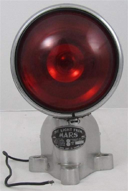 Mars Signal Light Co Vintage Emergency