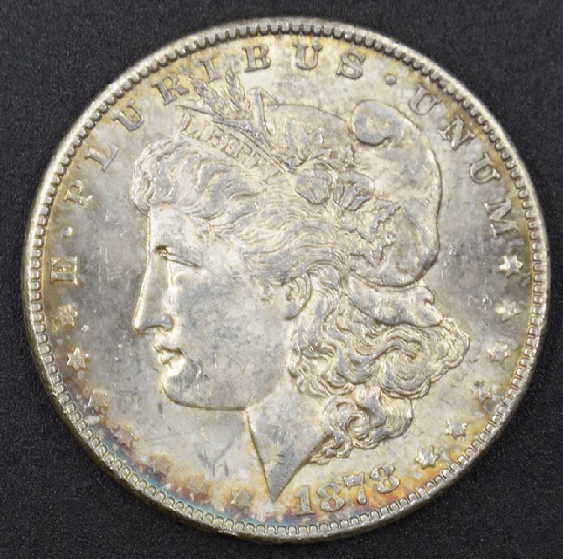 1878-S Morgan Silver Dollar Coin