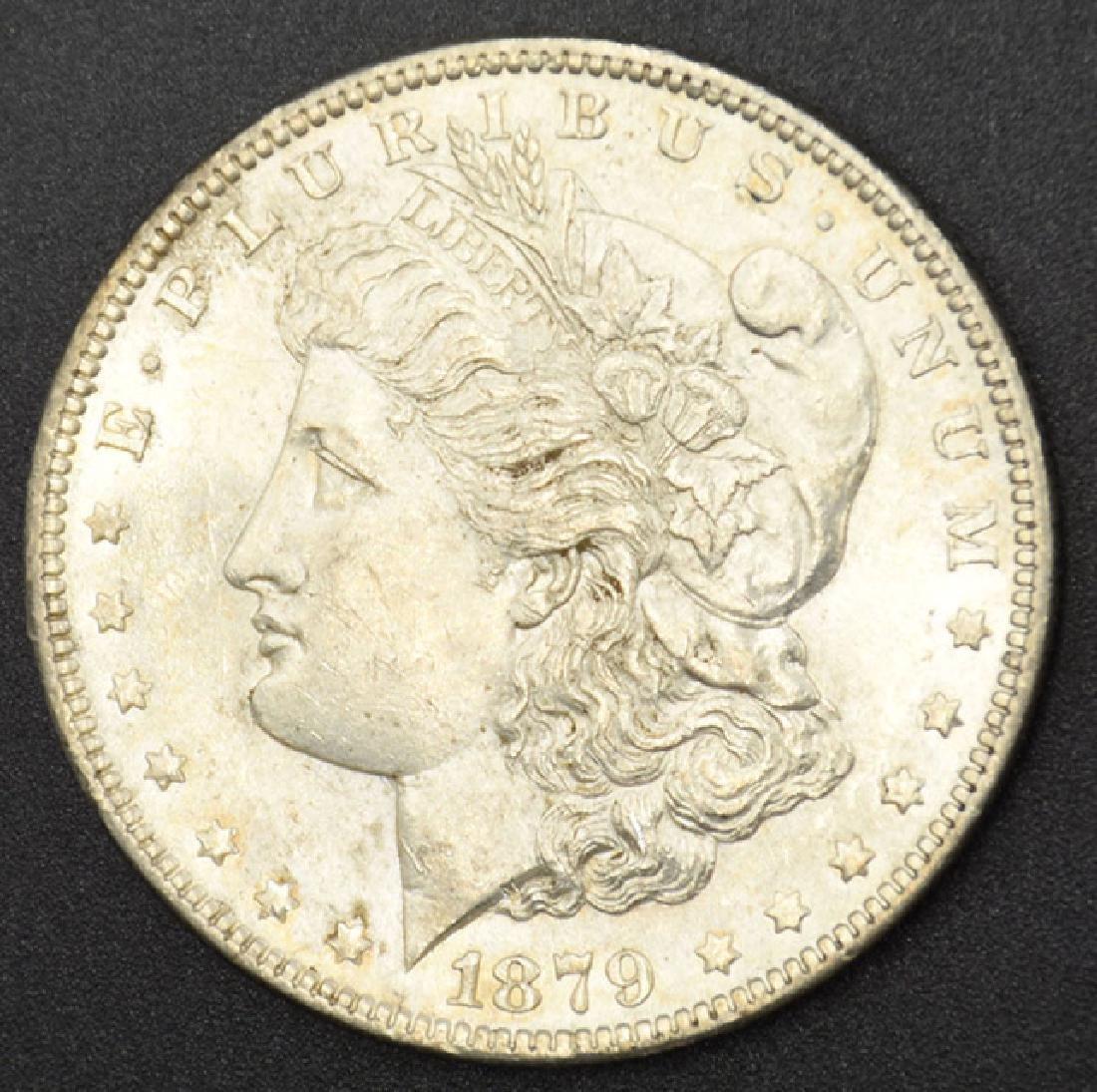 1879-P Morgan Silver Dollar Coin