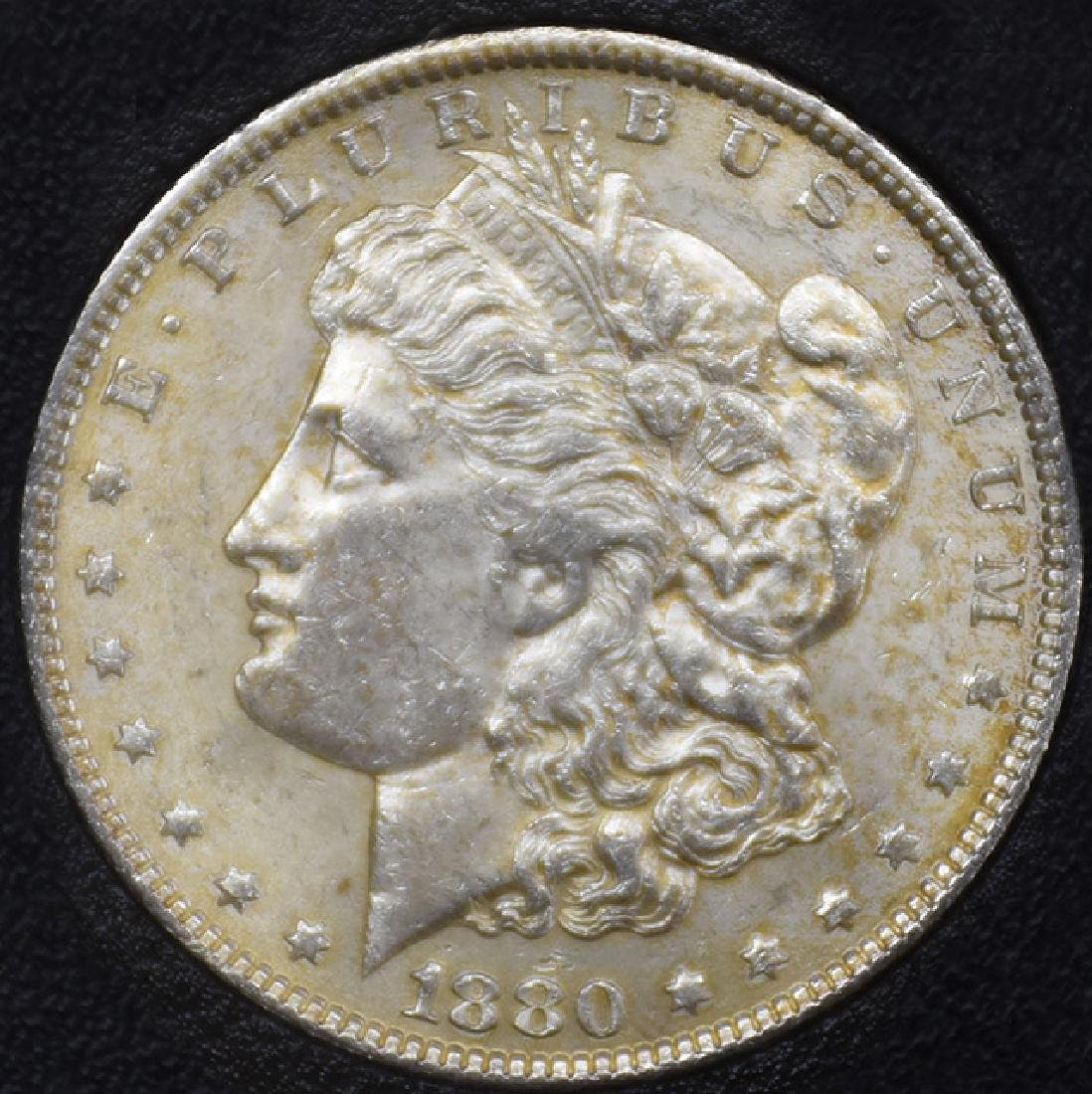 1880-P Morgan Silver Dollar Coin