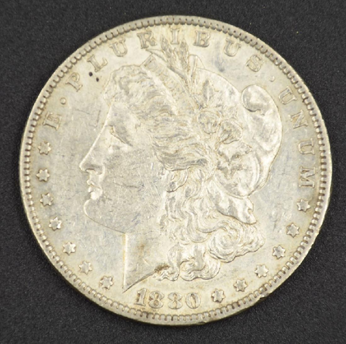 1880-O Morgan Silver Dollar Coin