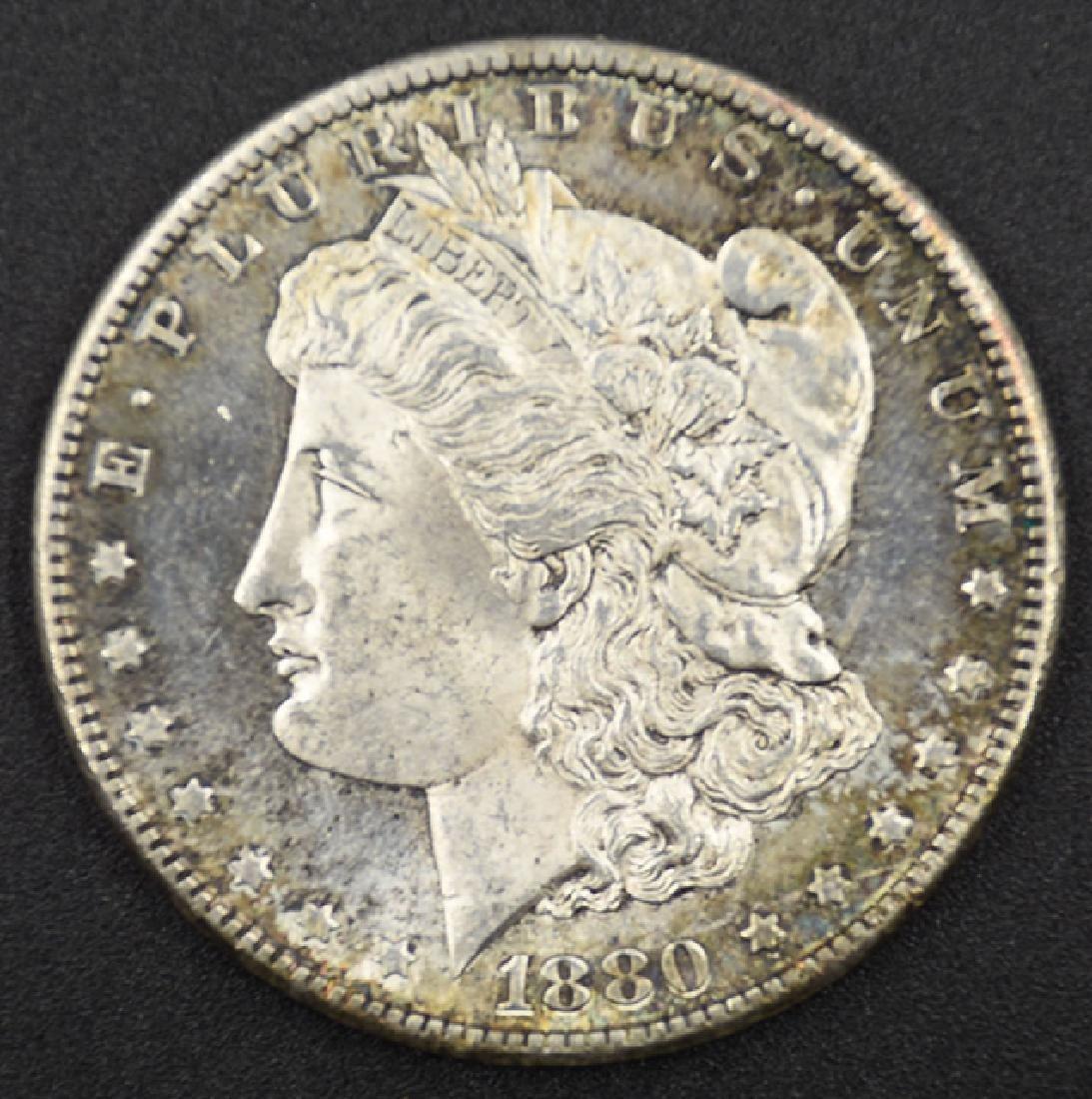 1880-S Morgan Silver Dollar Coin
