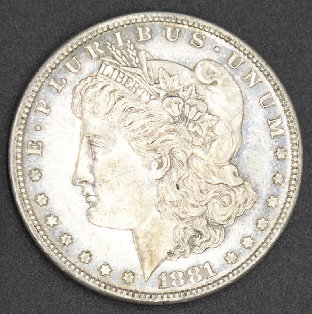 1881-S P.L. Morgan Silver Dollar Coin