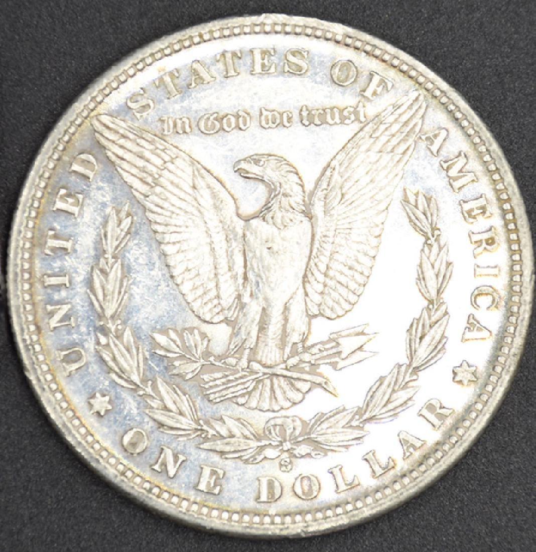 1881-S P.L. Morgan Silver Dollar Coin - 2