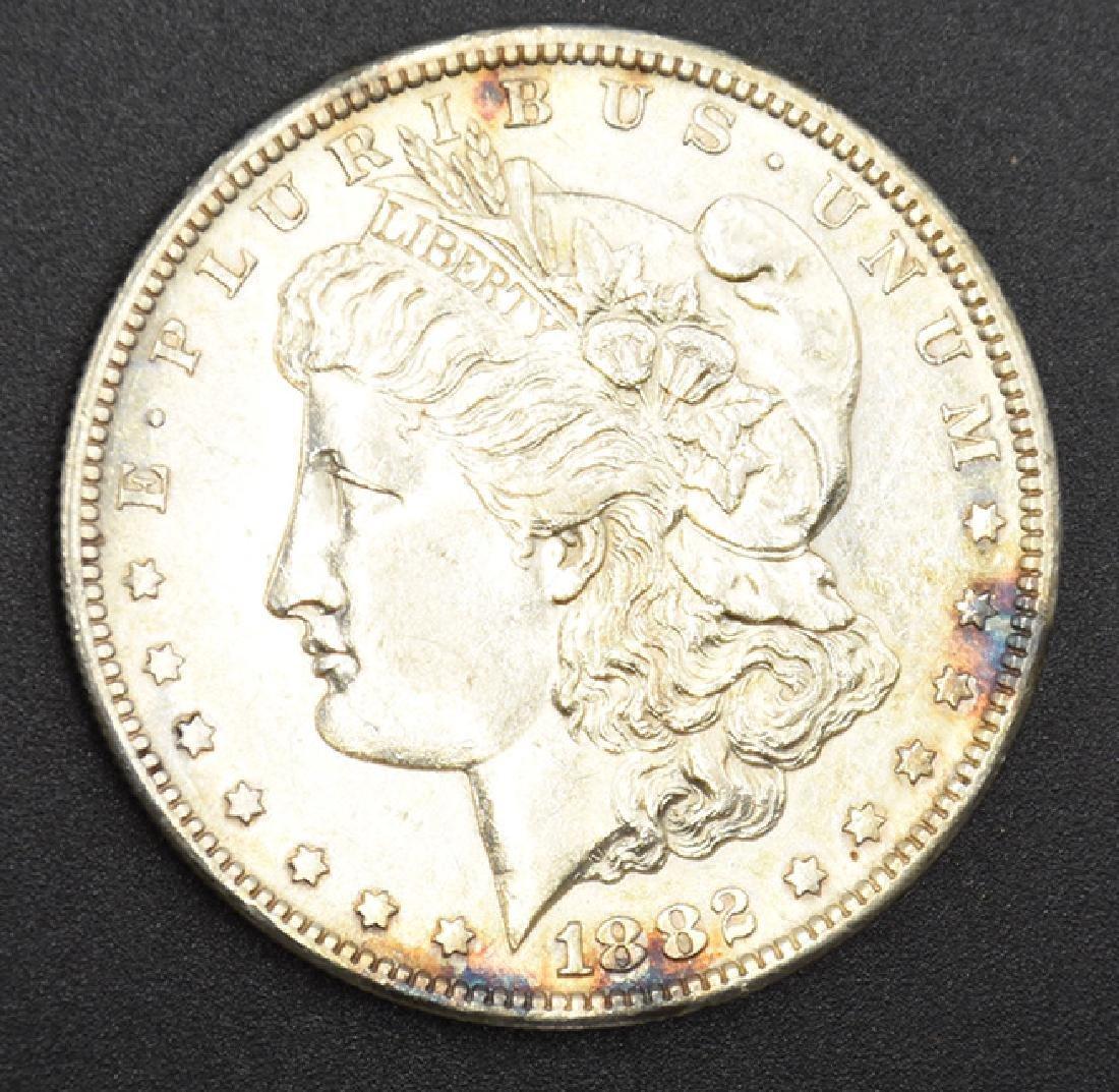 1882-S Morgan Silver Dollar Coin