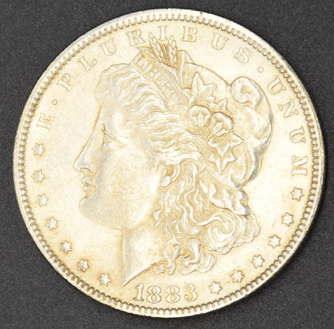 1883- Morgan Silver Dollar Coin