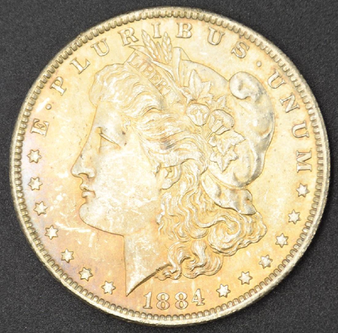 1884-O Morgan Silver Dollar Coin
