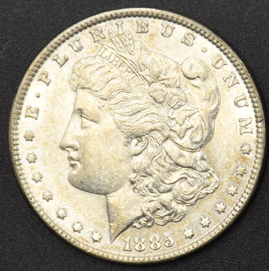 1885-P Morgan Silver Dollar Coin