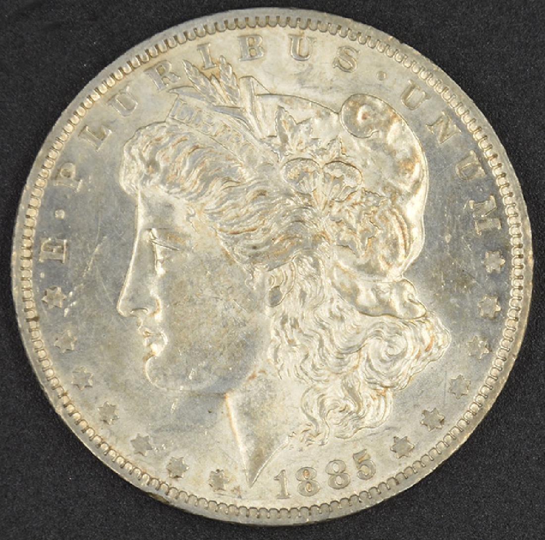 1885-O Morgan Silver Dollar Coin