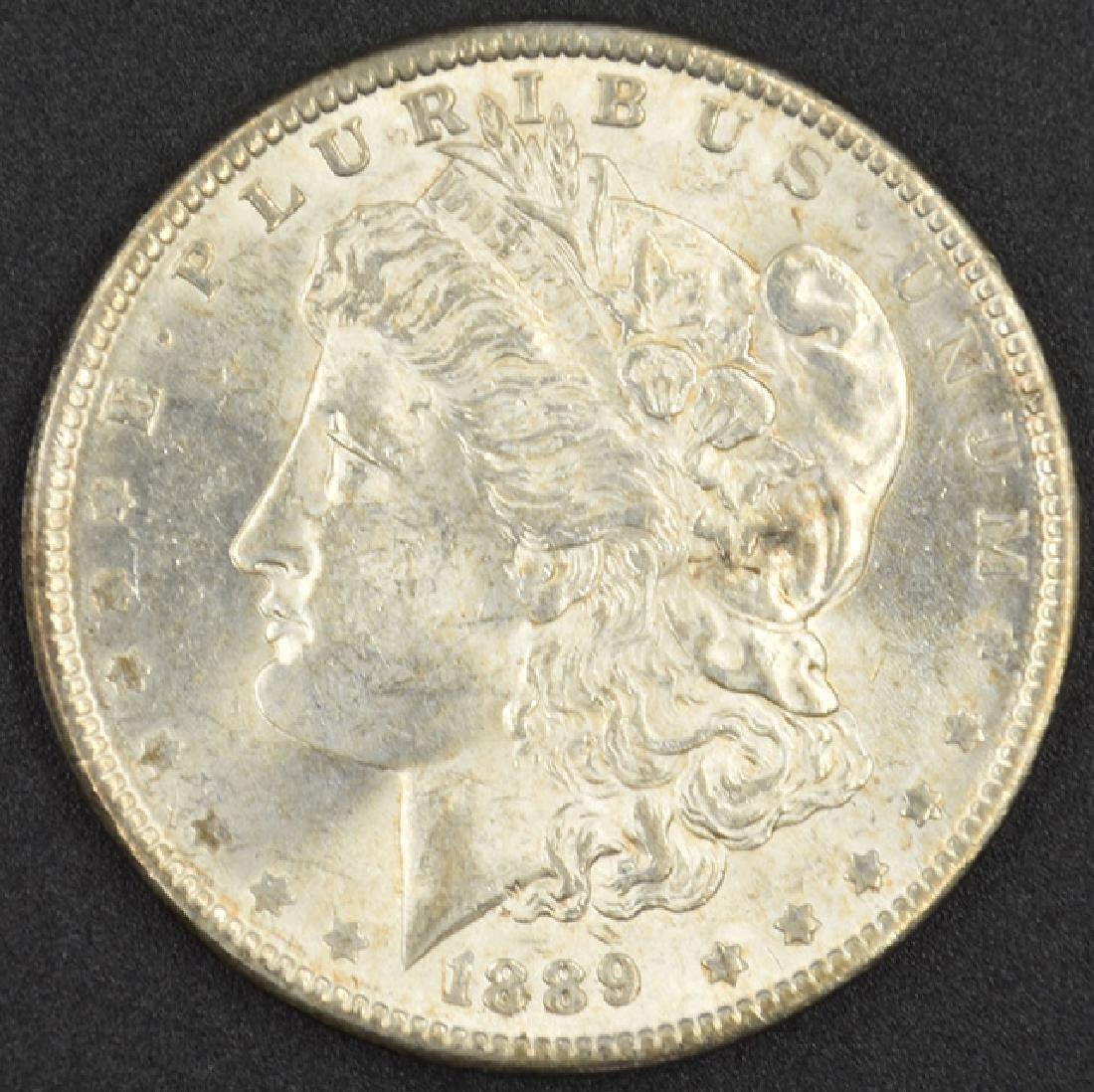 1889-P Morgan Silver Dollar Coin