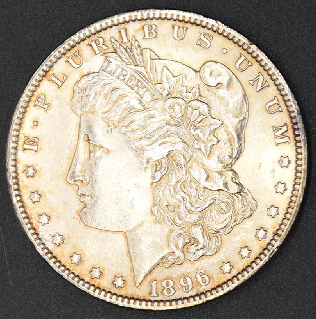 1896-P Morgan Silver Dollar Coin