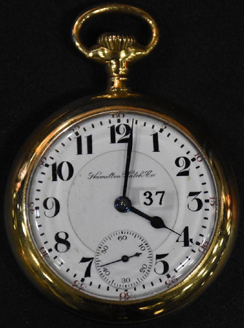 Hamilton Watch Co. 940 21 J. 185 M1 Pocket Watch.