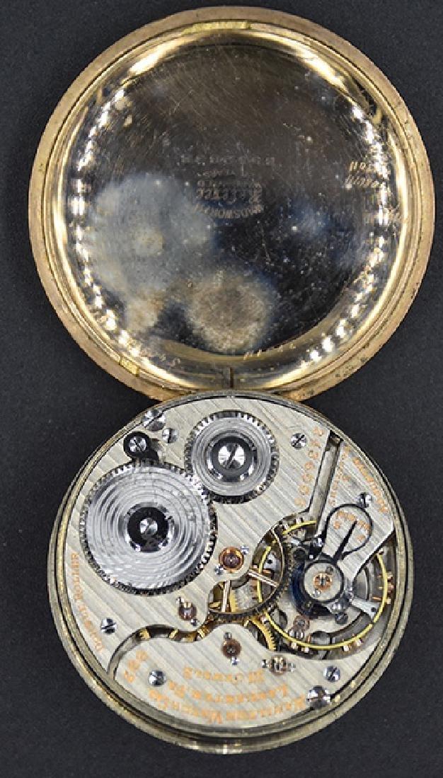 Hamilton Watch Co. 992 M2 21J Pocket Watch - 2