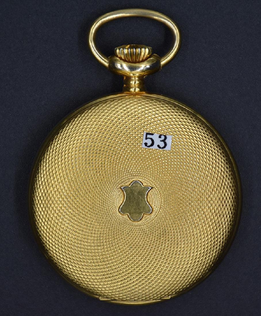 Villereuse 17J pocket watch w/ Masonic Dial