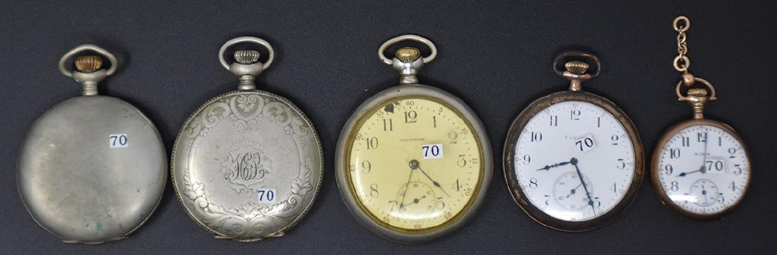 Five assorted Pocket Watches