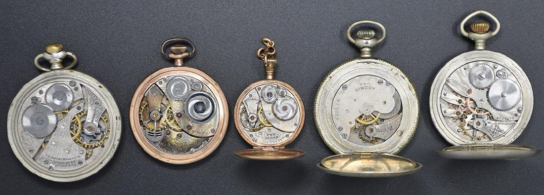 Five assorted Pocket Watches - 2