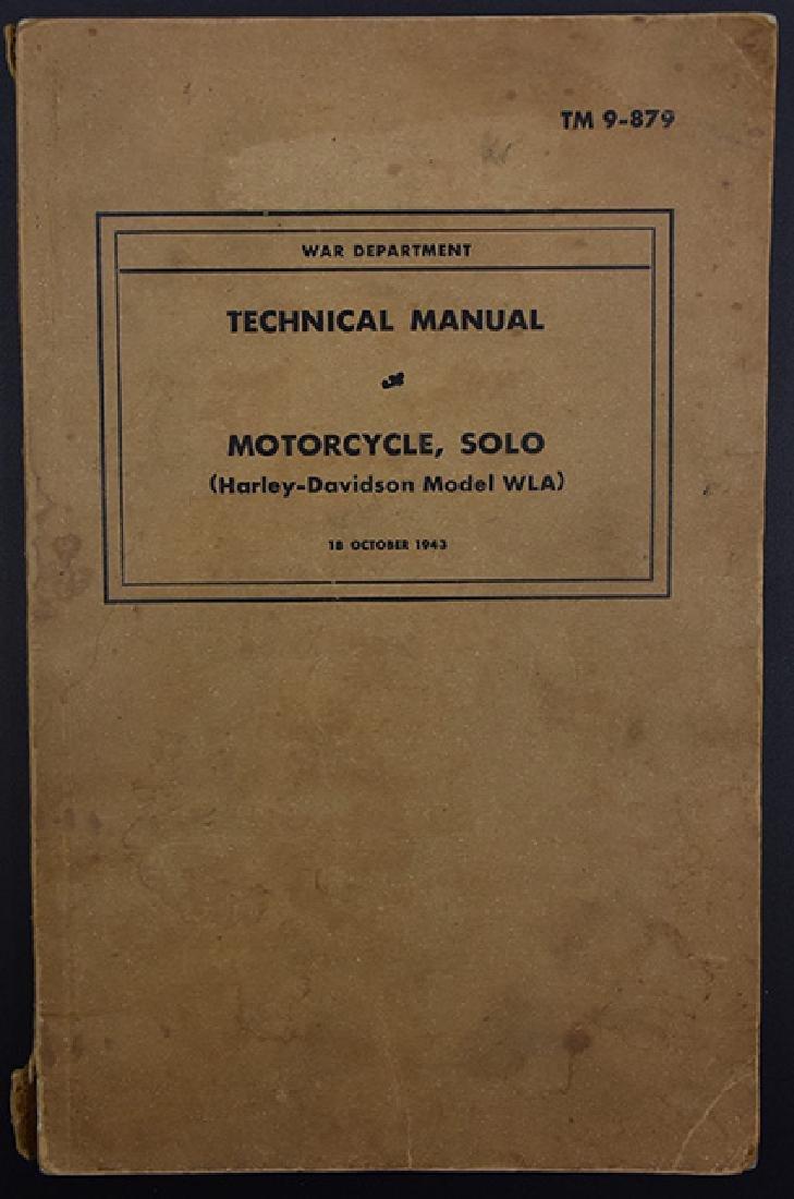 1943 Harley Davidson War Manual
