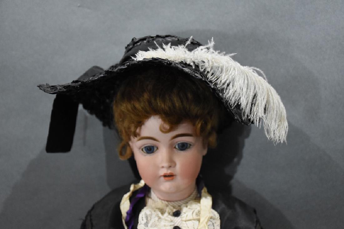 Vintage German Kestner 162 Bisque doll - 2