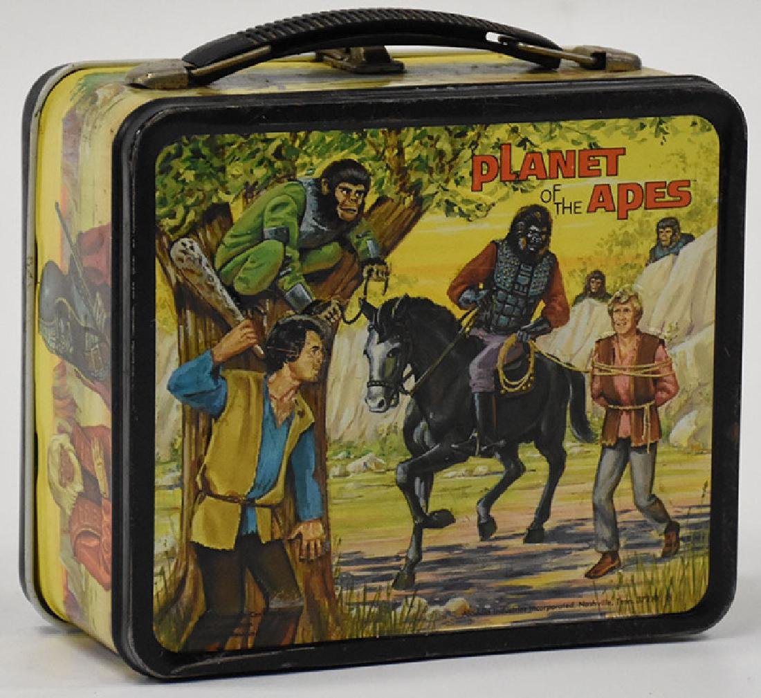 Aladdin 1974 Planet of the apes lunchbox