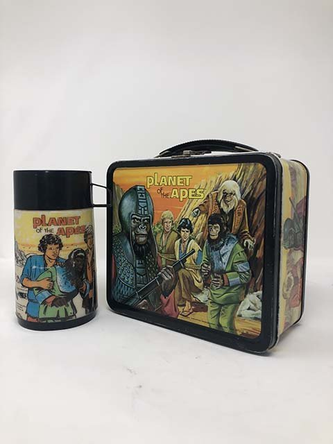 Aladdin 1974 Planet of the apes lunchbox - 2