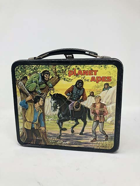 Aladdin 1974 Planet of the apes lunchbox - 3