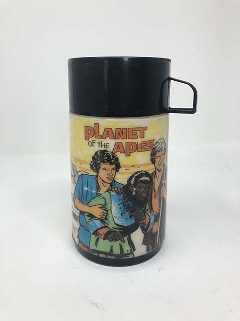 Aladdin 1974 Planet of the apes lunchbox - 4