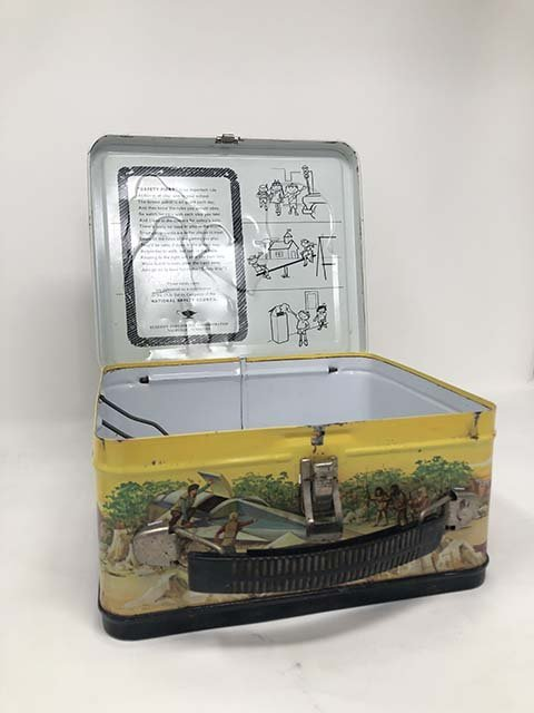 Aladdin 1974 Planet of the apes lunchbox - 6