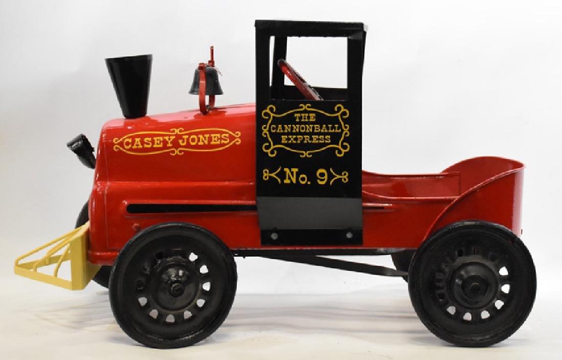 antique Restored Casey Jones pedal car