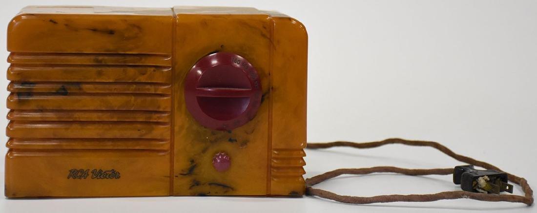 RCA 9-sx little nipper catalin radio