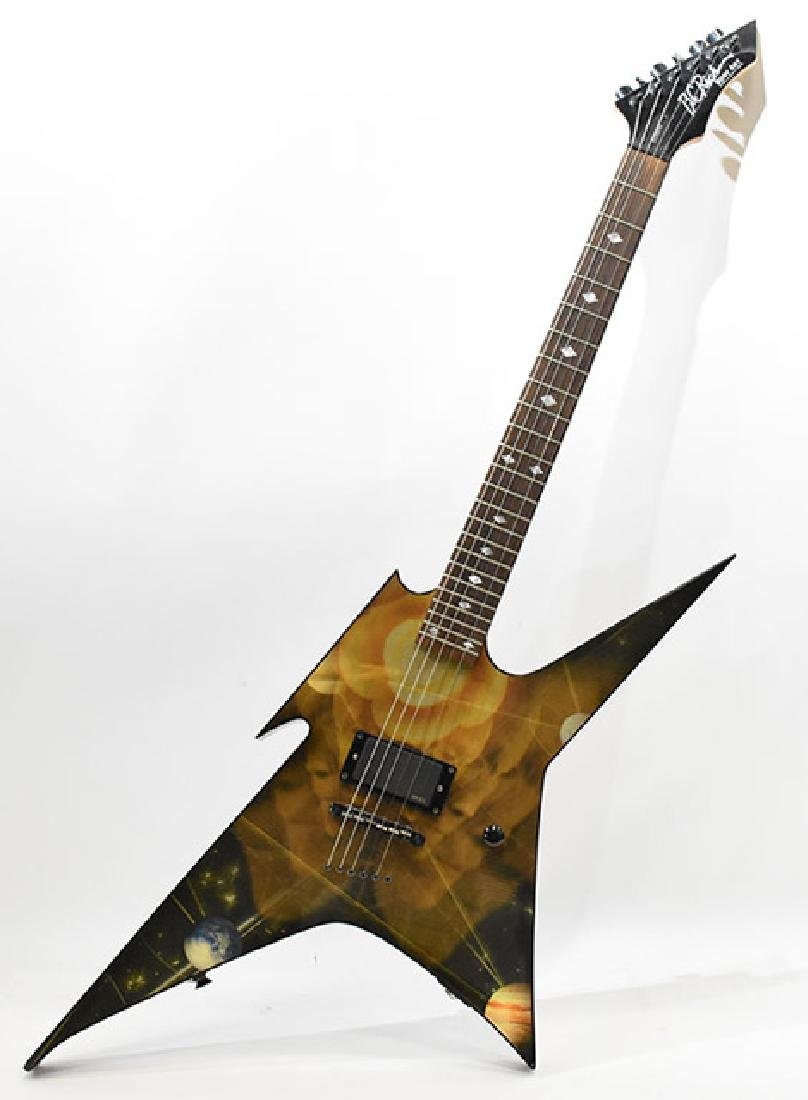 BC Rich electric guitar with case