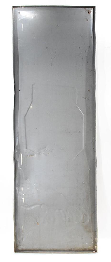 coca-cola take home a carton 25 cent tin sign - 2