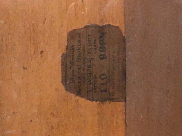 oak 3 stack globe wernicke bookcase desk - 6
