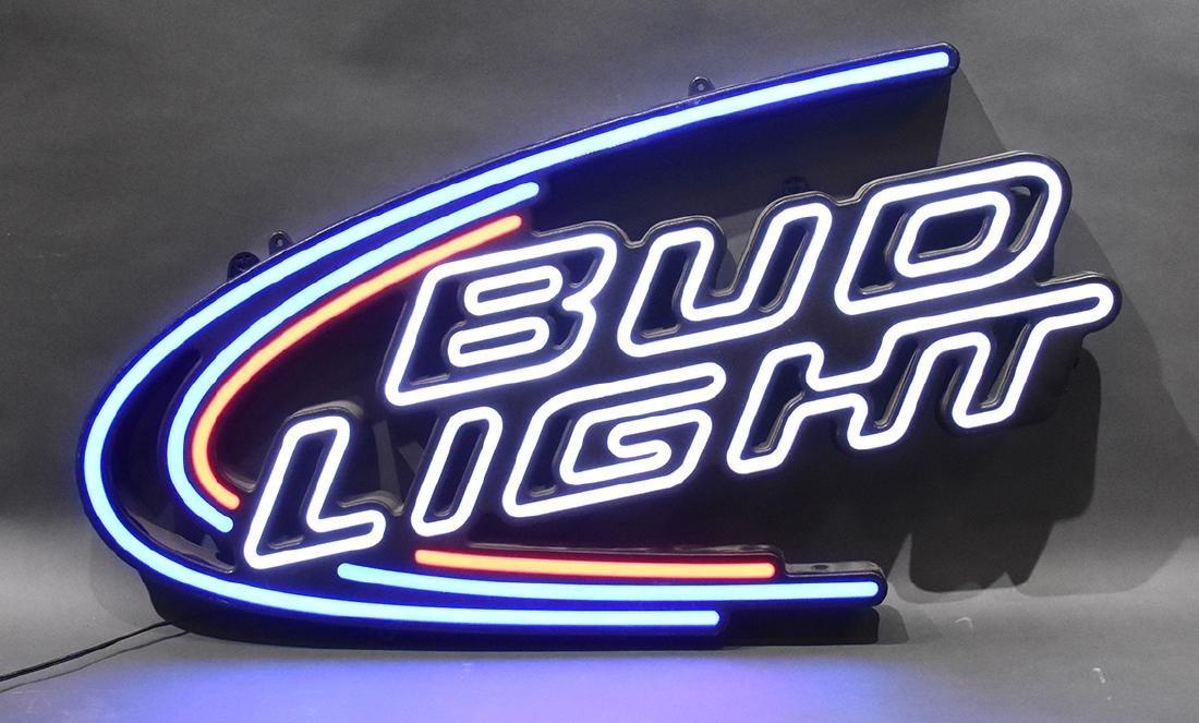 Blue Bud Light LED Sign