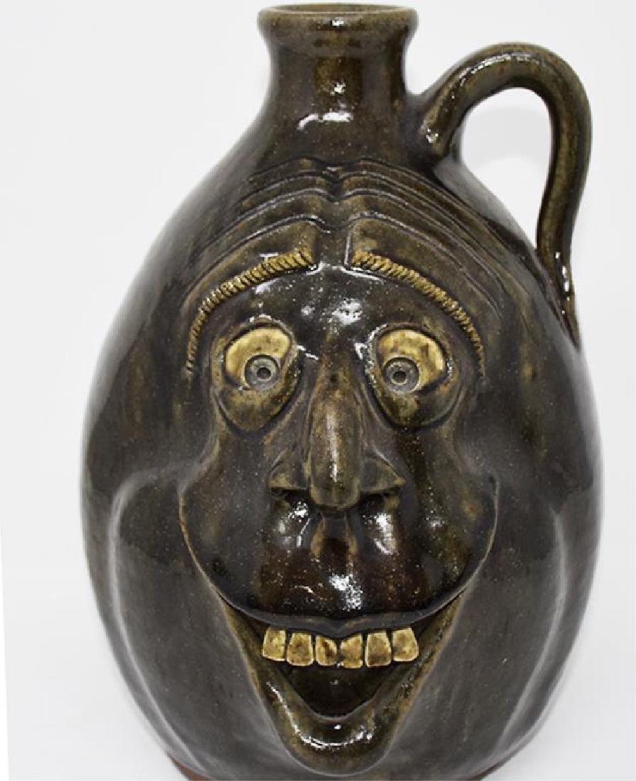 Melvin Crocker Grotesque face jug