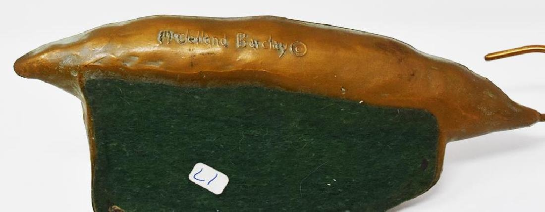 Signed McCelland Barclay desk tray - 2