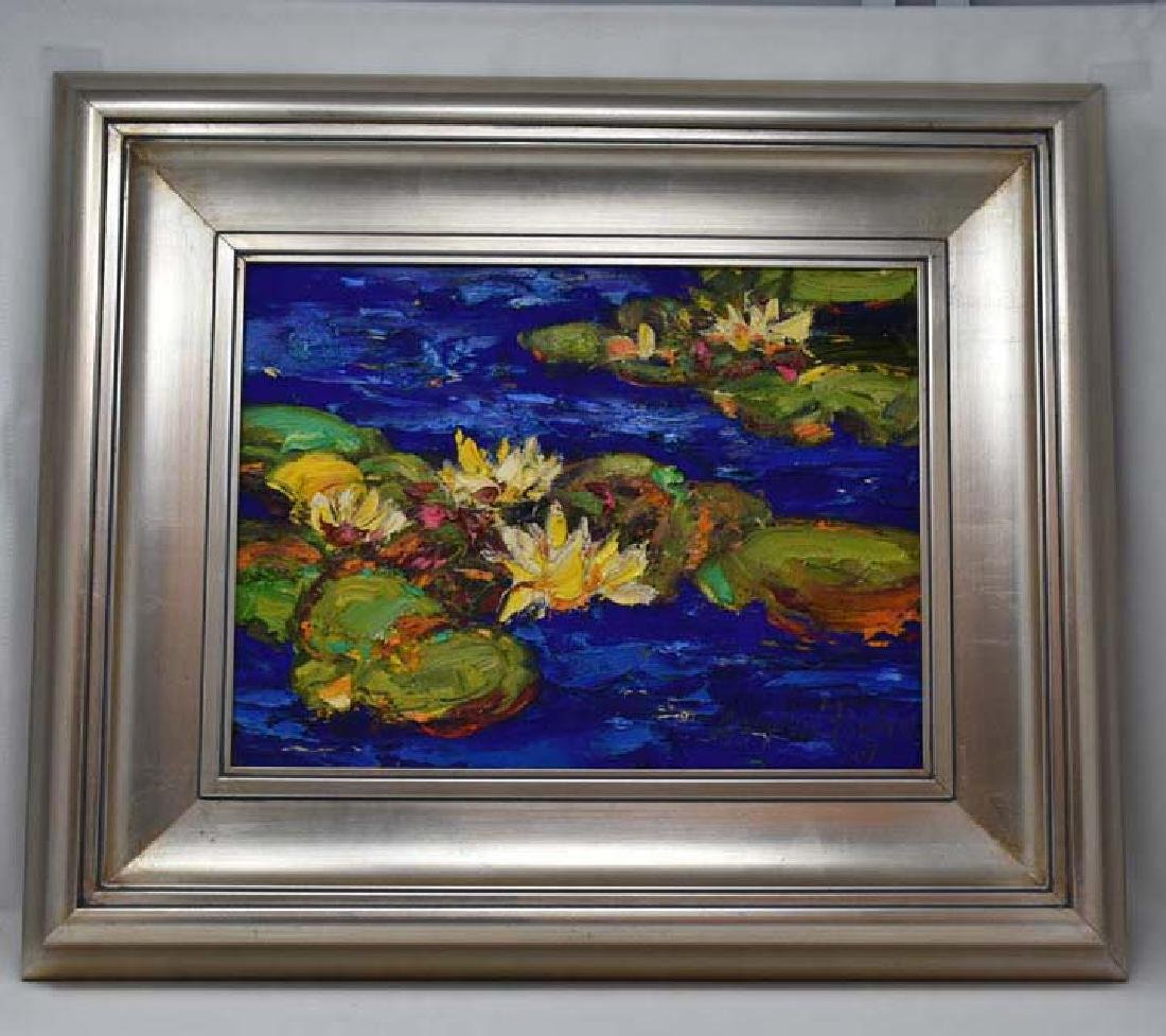 Oil painting on canvas signed Graydon Foulger