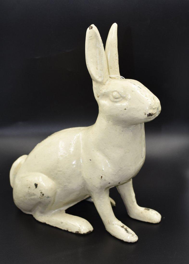 Cast iron Hubley Rabbit door stop