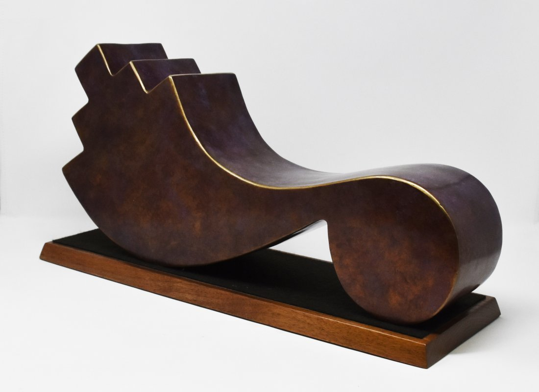 Bronze sculpture signed C. Carpio