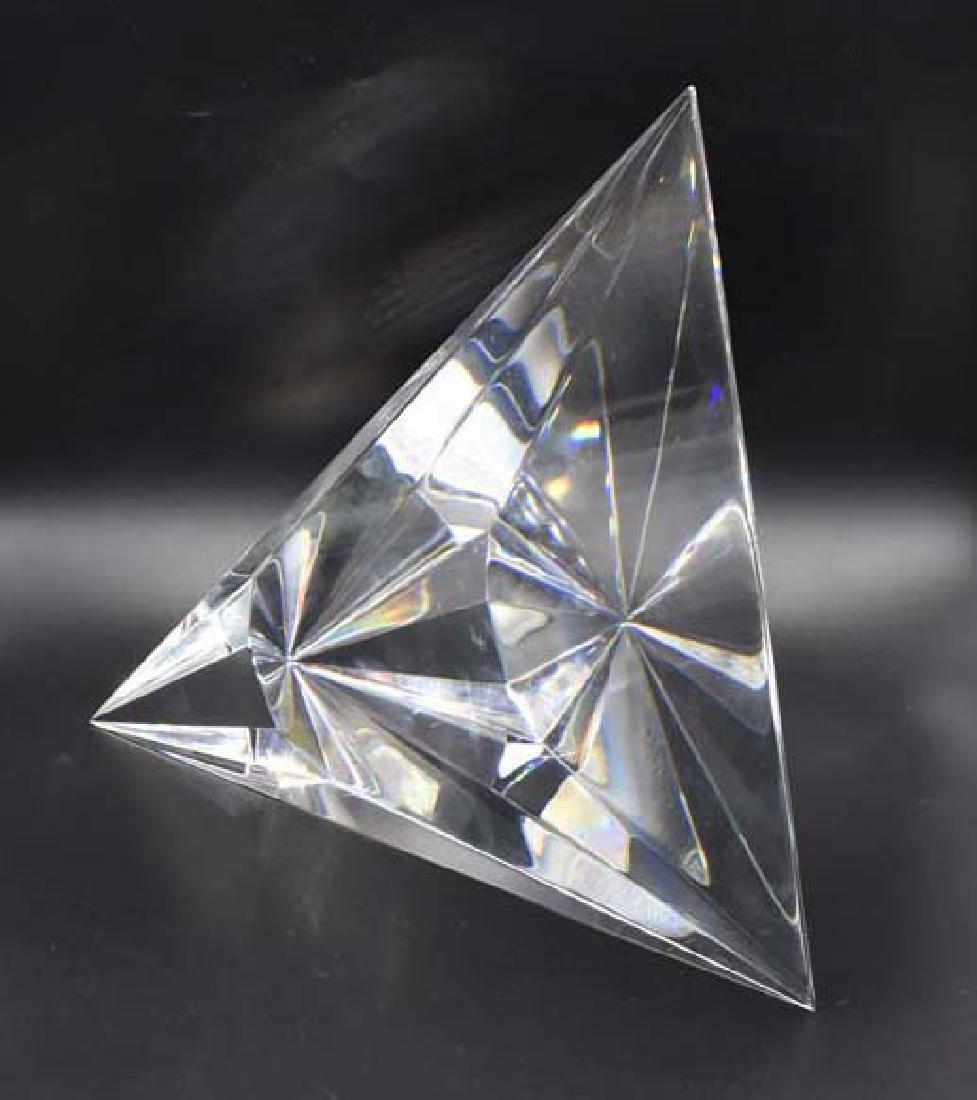 Signed Christopher Reis glass sculpture