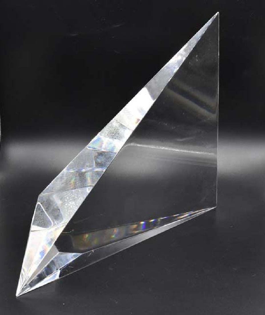Signed Christopher Reis glass sculpture - 2