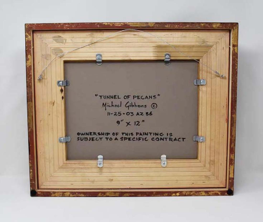 Oil on artist board signed Michael Gibbons - 2