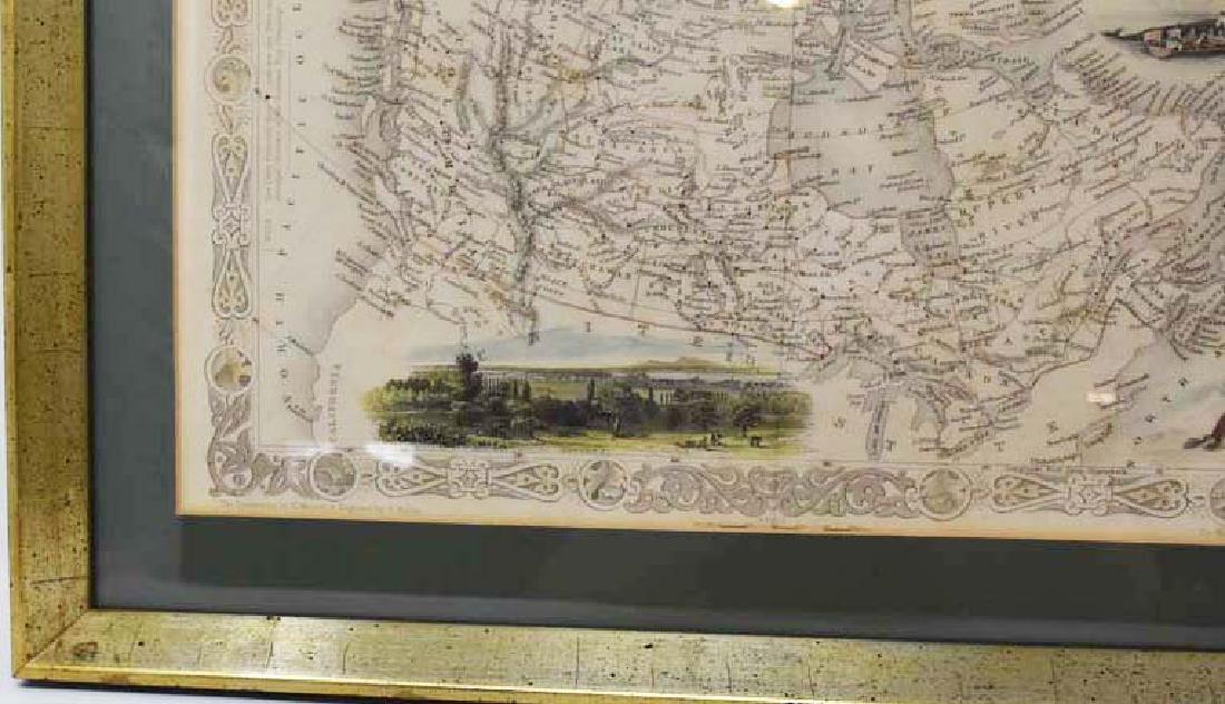 2 Framed antique maps - 3
