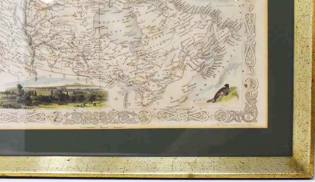 2 Framed antique maps - 4
