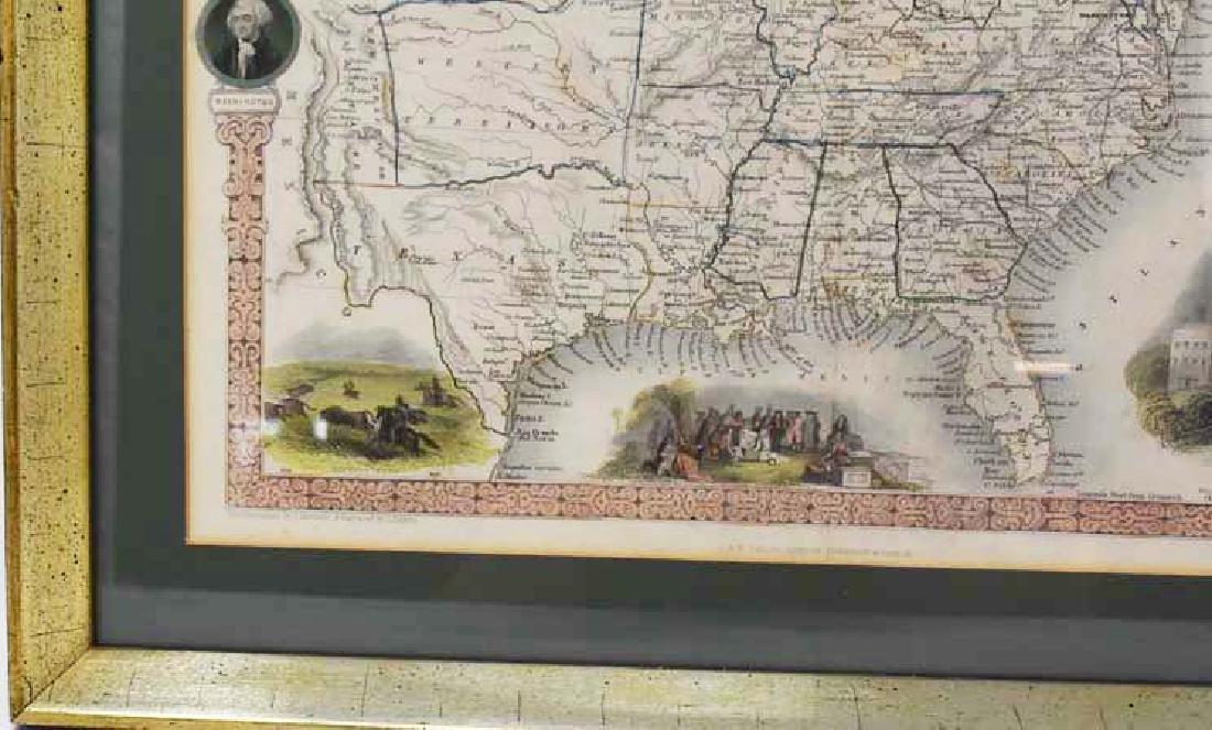 2 Framed antique maps - 6